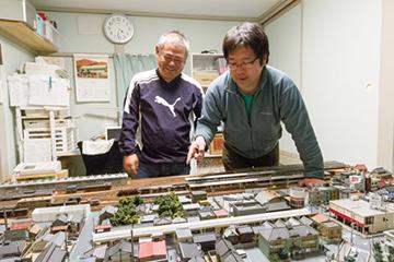 鉄道資料館 鈴木さん