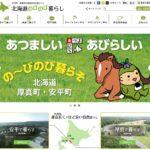 北海道のびのび暮らしサイトの画像です